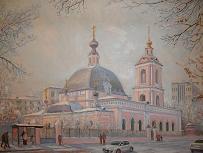 храм свт. Николая в Покровском (картина)