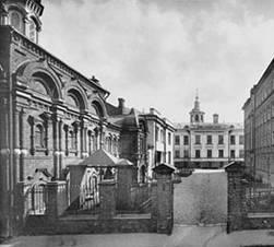 Храм преподобного Сергия Радонежского, при б. Лепехинской больнице