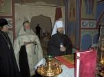 Митрополит Волоколамский Иларион посетил Патриарший центр древнерусской богослужебной традиции. Фото 6