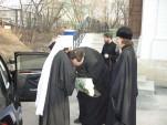 Митрополит Волоколамский Иларион посетил Патриарший центр древнерусской богослужебной традиции. Фото 1
