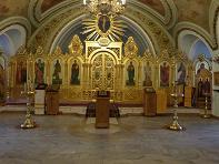 Храм Петра и Павла первоверховных апостолов в Новой Басманной слободе (интерьер)