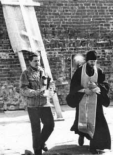 первое в истории храма посещение его 18 апреля 1998 года Святейшим Патриархом Московским и всея Руси Алексием II