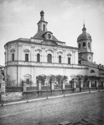 Церковь Воскресения Словущего, что в Барашах, в Москве. 1882 год