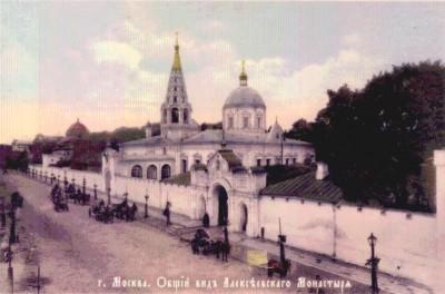 Крестовоздвиженский храм. Фотография середины XIX века.