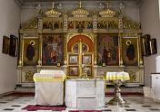 Крестильный храм Василия Блаженного при Богоявленском кафедральном соборе (интерьер)
