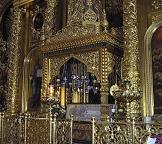 Богоявленский кафедральный собор. Рака с мощами святителя Алексия, митрополита Московского и всея Руси чудотворца