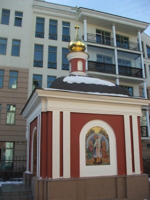 Часовня храма св. апостола Иакова Заведеева