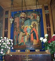 Введения во храм Пресвятой Богородицы в Барашах (внутр)