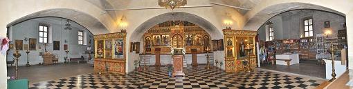 Георгия Победоносца, великомученика в Старых Лучниках (внутри)