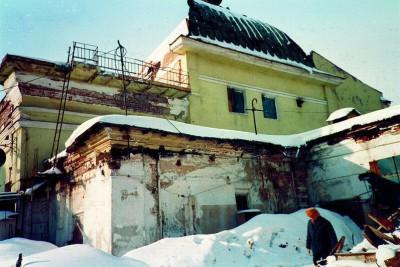 Восстановление Никольского храма