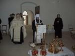 Митрополит Волоколамский Иларион посетил Патриарший центр древнерусской богослужебной традиции. Фото 7
