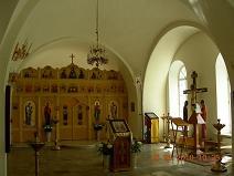 Храм святителя Николая Мирликийского, в Дербеневе (интерьер)
