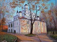 храм Покрова Пресвятой Богородицы в Рубцове (картина)