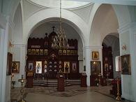 храм Алексия человека Божия в Красном селе (интерьер)