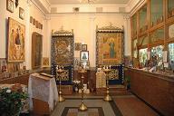 Матроны блаженной, Московской часовня при Курском вокзале (интерьер)