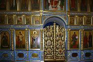 Георгия Победоносца, великомученика в Старых Лучниках (иконостас)