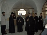 Митрополит Волоколамский Иларион посетил Патриарший центр древнерусской богослужебной традиции. Фото 4