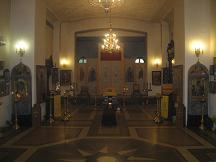 Троицы Живоначальной на Грязех, у Покровских ворот (внутреннее убранство храма)
